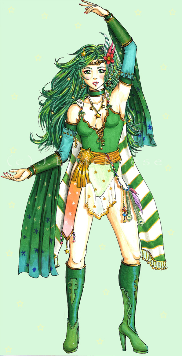 Rydia by AyaneShinobi