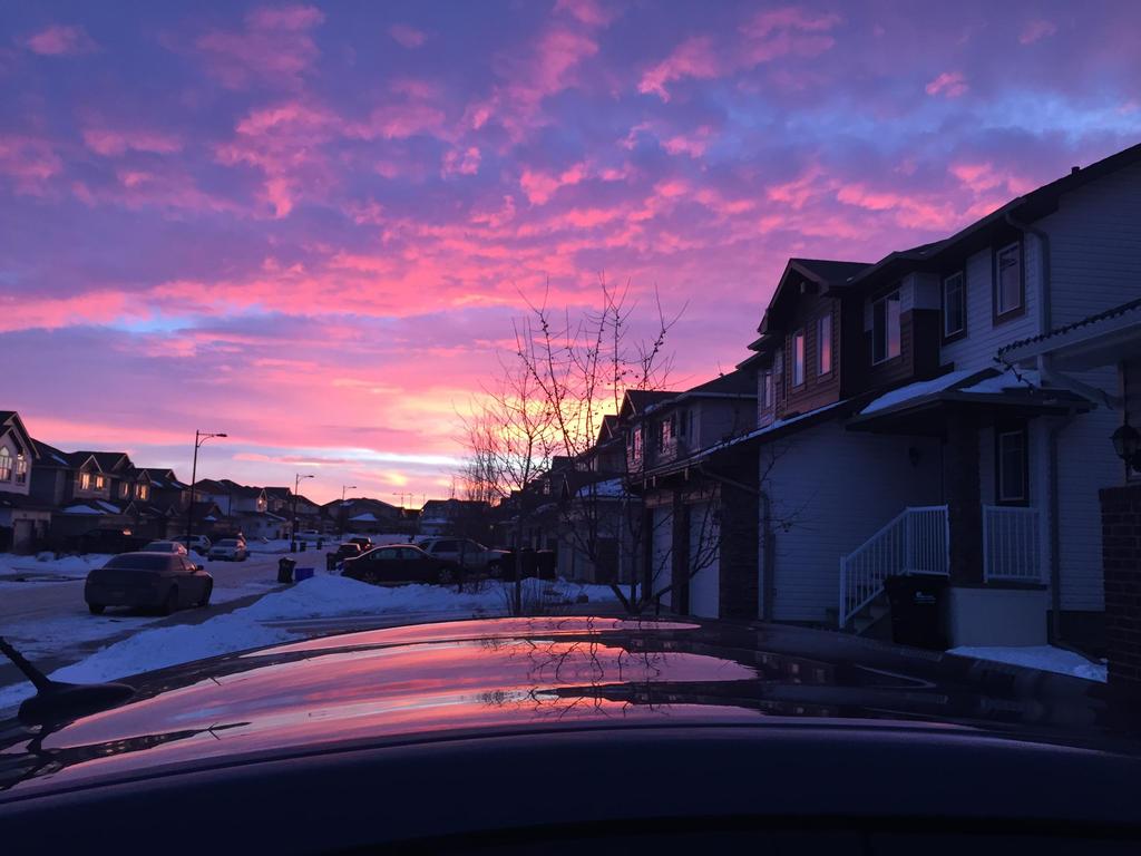Aesthetic Morning Sky By Anatthema