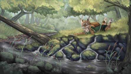 Riverbank by Anatthema