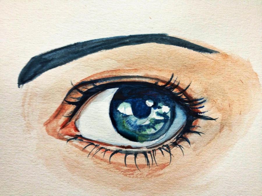 Blue eye by sk8ternoz