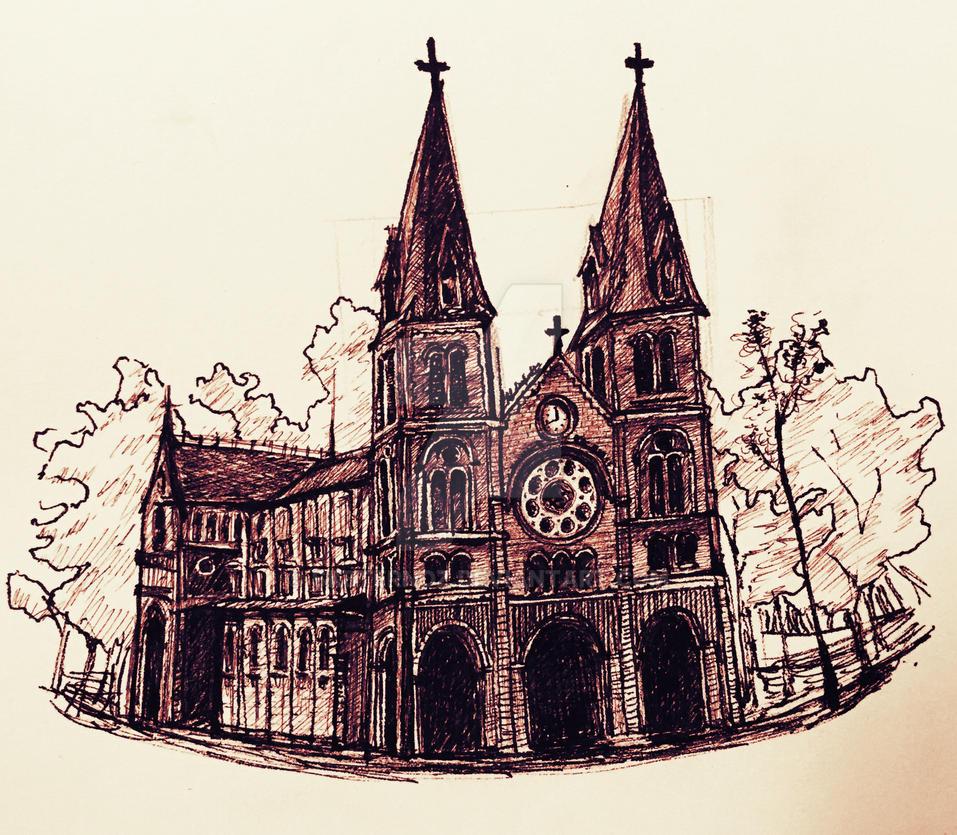 Saigon Notre-Dame Basilica by sk8ternoz