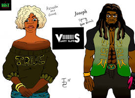 Asenath And Joseph Concepts Colored(Vanity Slaves) by eternal10