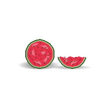 Watermelon PixelArt by Lymos