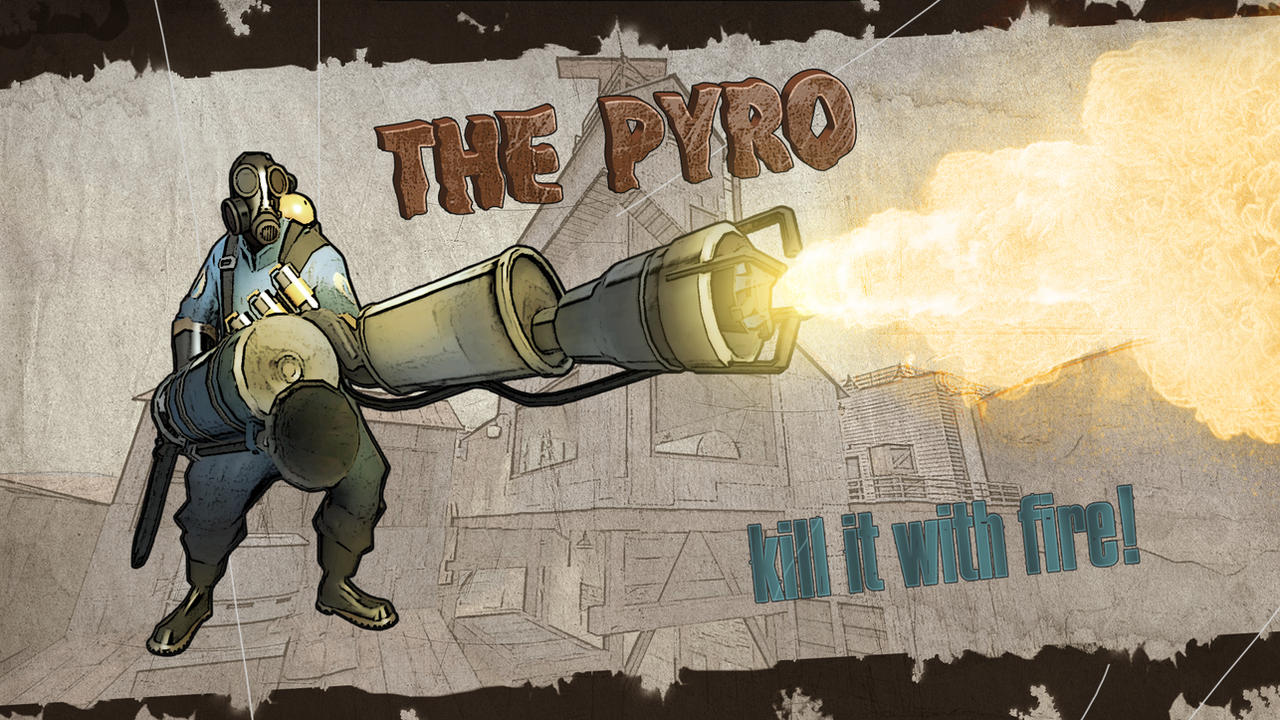 Pyro in Borderlands by Lymos