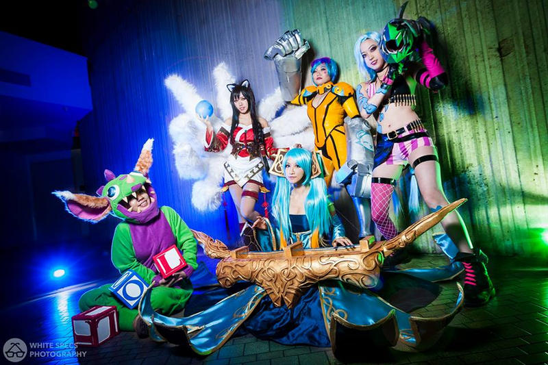 League of Legends Group - Youmacon 2014 by Kurai-Hisaki