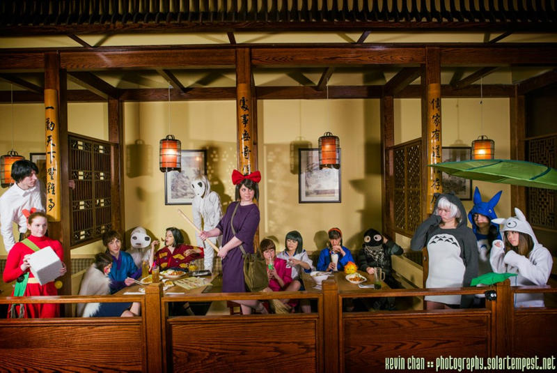 Ghibli Party by Kurai-Hisaki