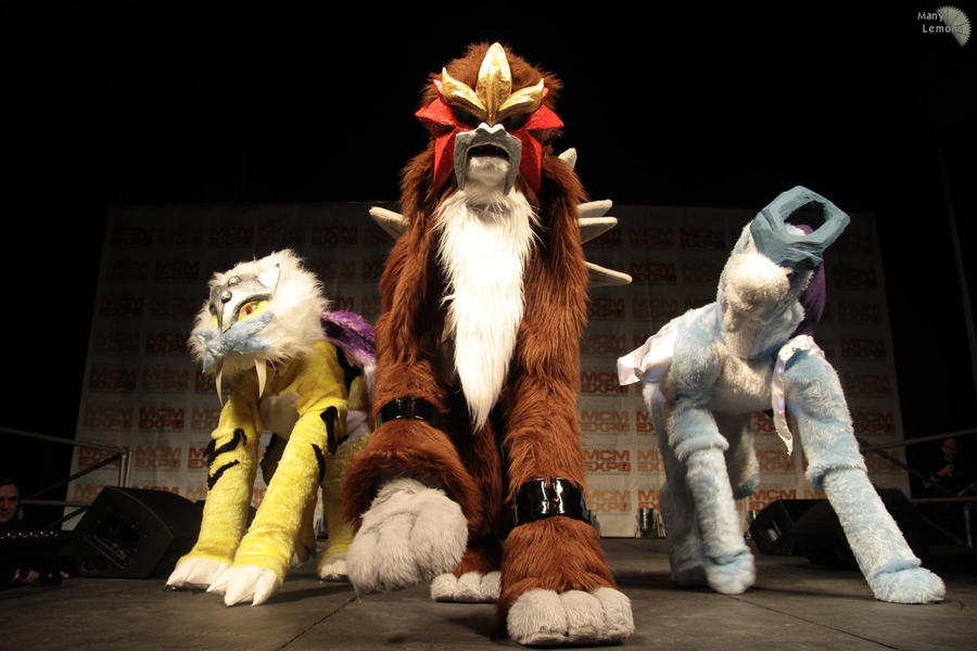 Legendary trio @ London Expo by DawnKestrel