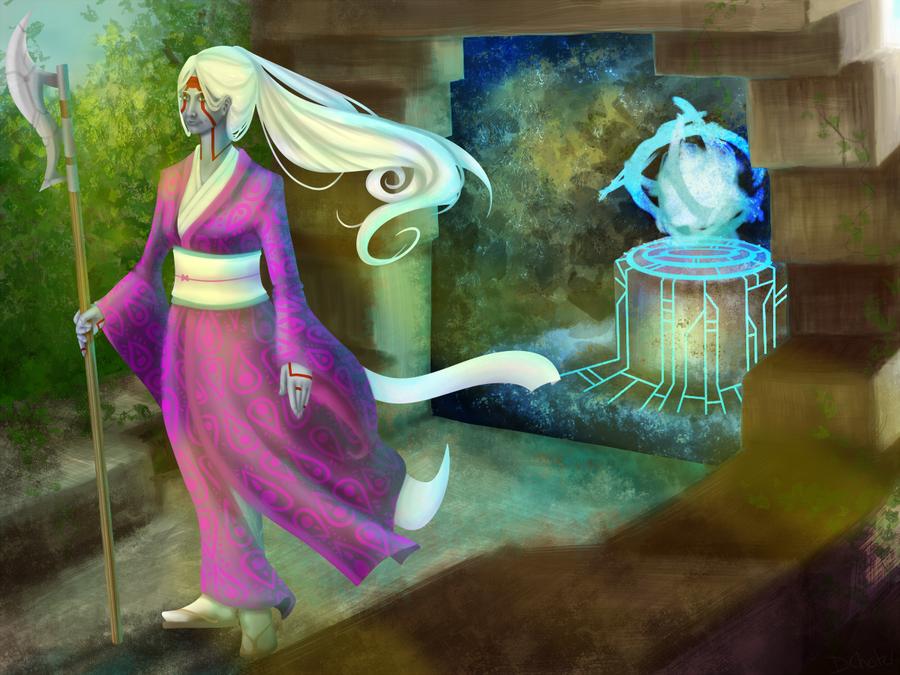 Gate Guardian by DawnKestrel