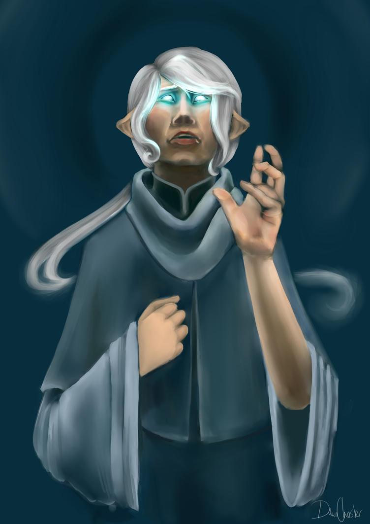 Tara the Cleric by DawnKestrel