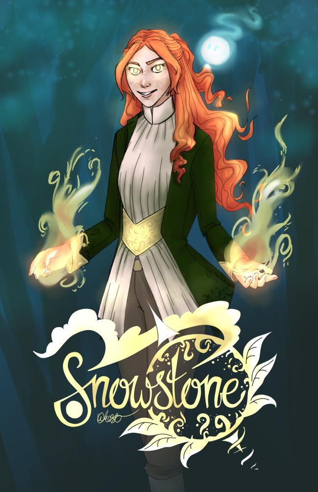 Snowstone poster 1 by DawnKestrel