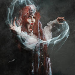 _the demon in childhoods nightmare_ by MrEz