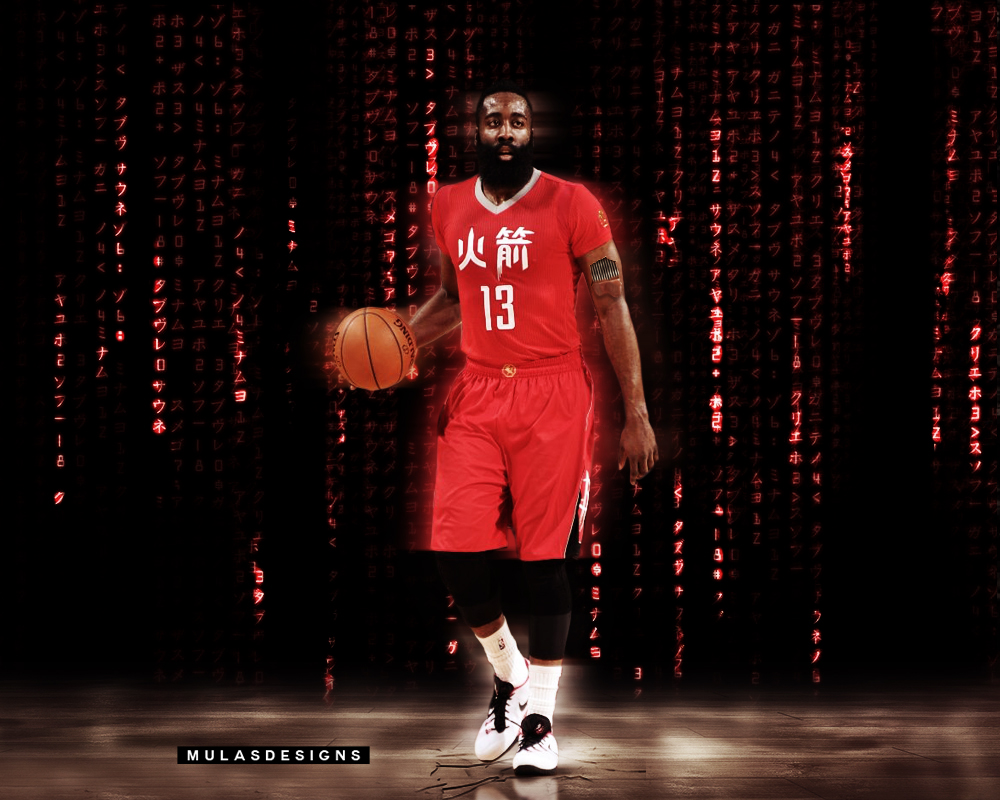 James harden chinese new year wallpaper by mulasdesigns on deviantart