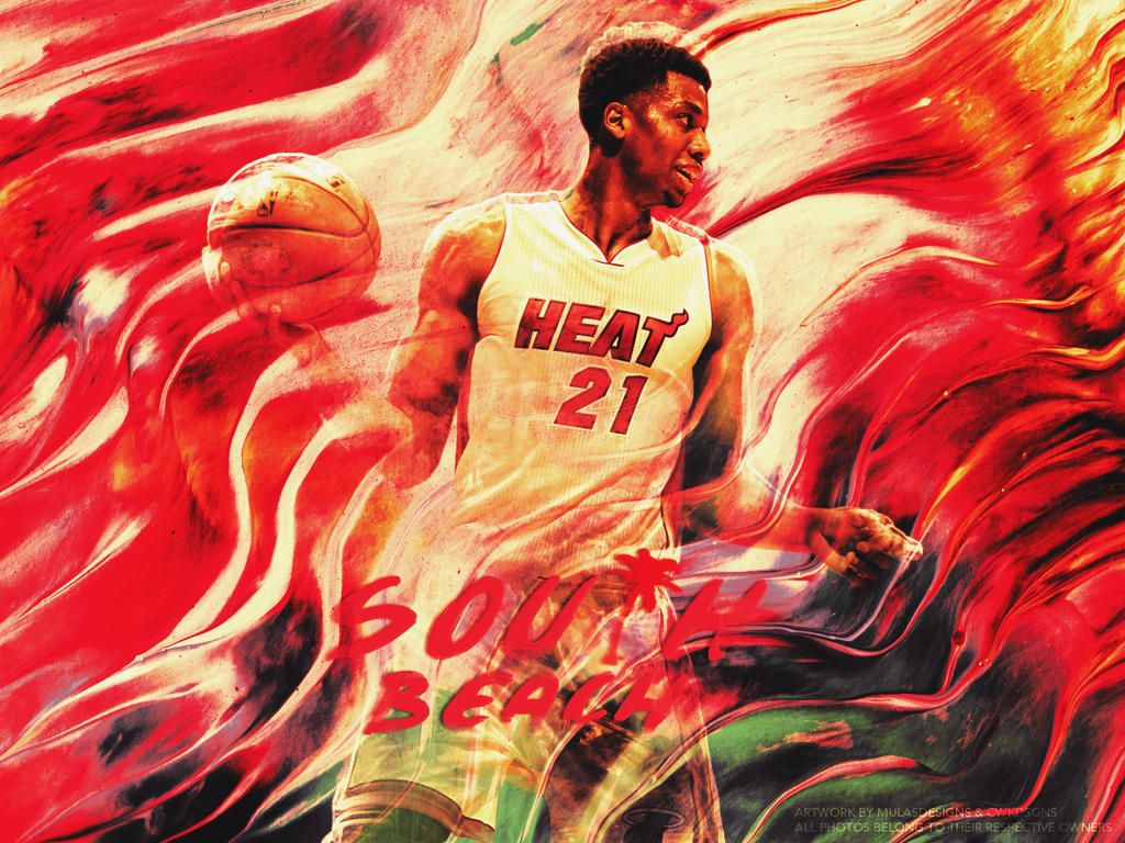 Hassan Whiteside Wallpaper by mulasdesigns on DeviantArt