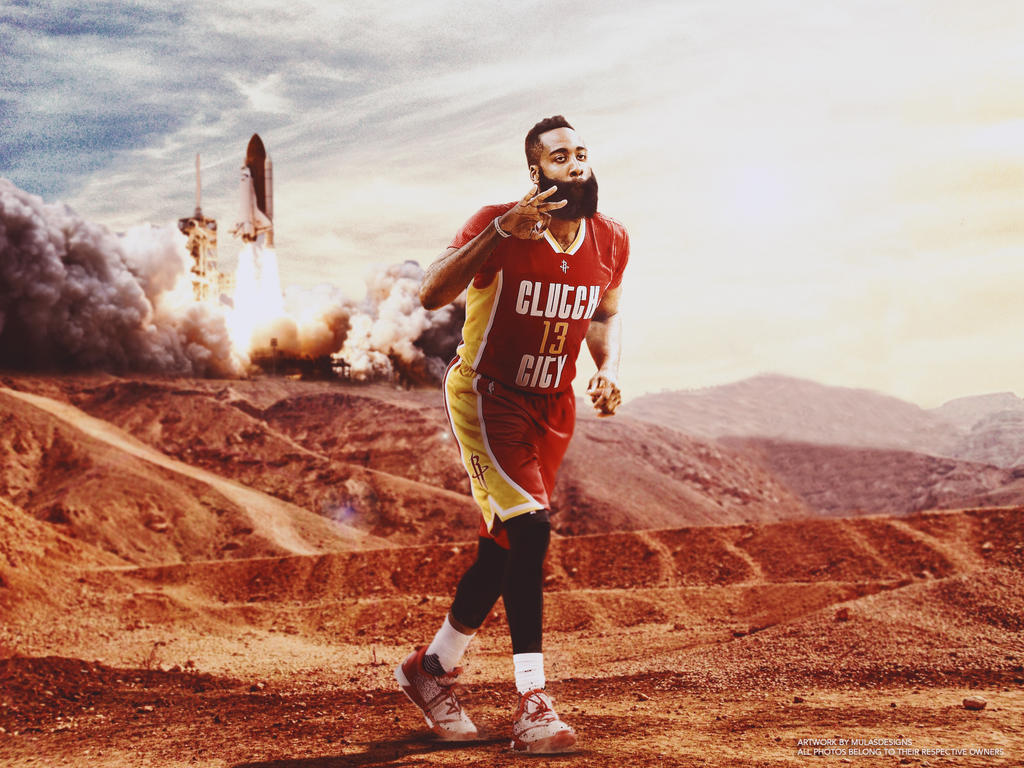 James Harden Wallpaper by mulasdesigns ...