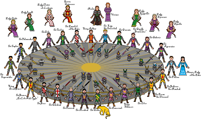 Knights of the round table by paladin errant on deviantart for 12 rules of the round table