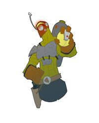 somethin' old - bounty hunter by jeremymjack