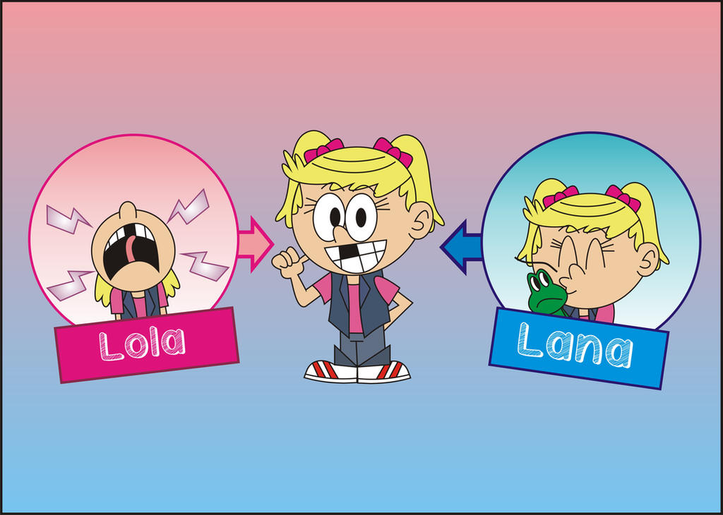 Fusion of Lola and Lana by Febriananda