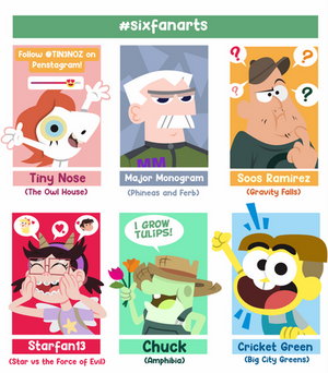 Six Fanarts 2