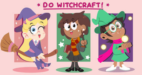 Be Gay, Do Witchcraft! by Febriananda