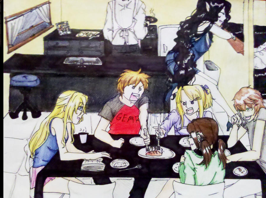 Dinner Time by CeltyF