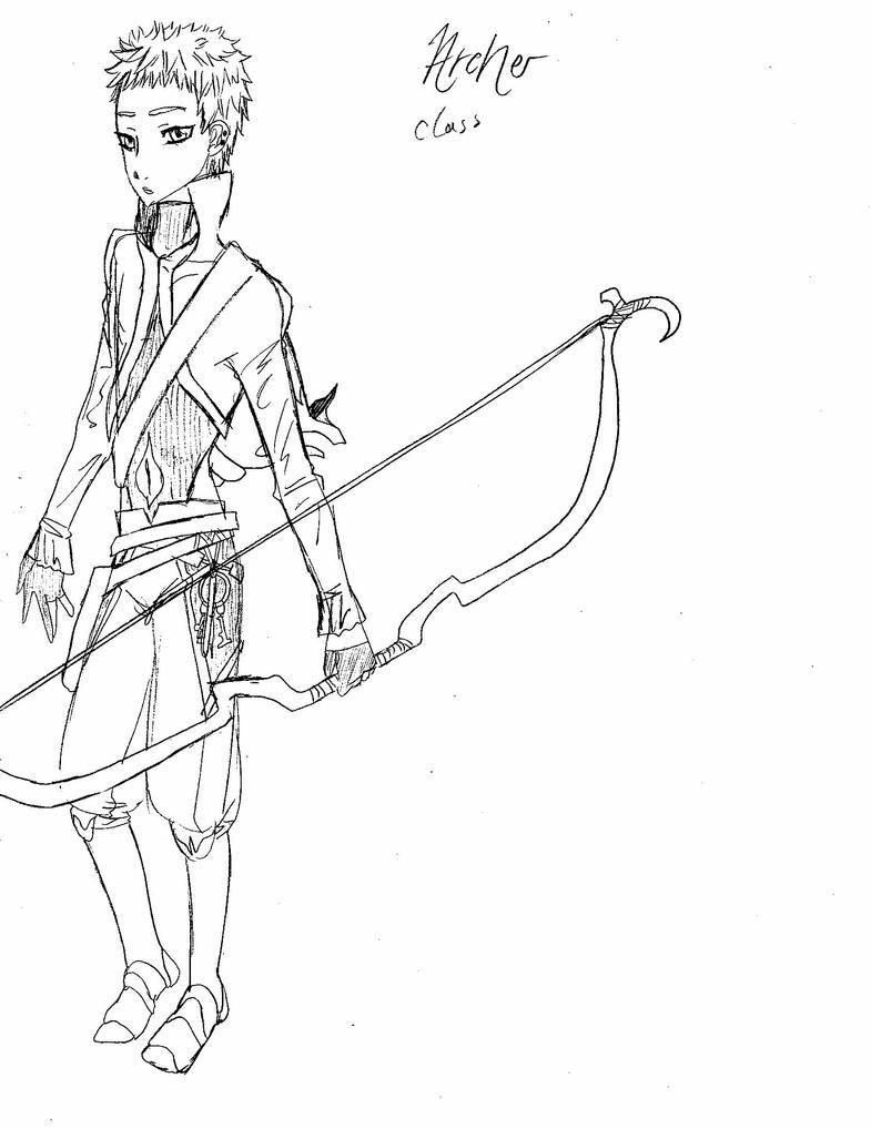 Archer by CeltyF