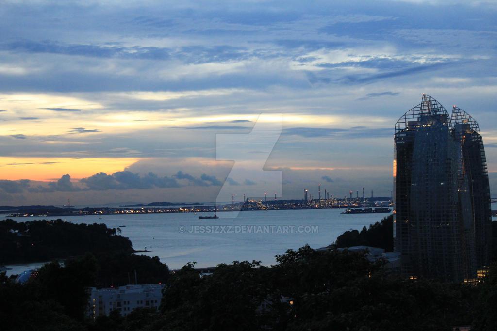 View of city by jessizxz