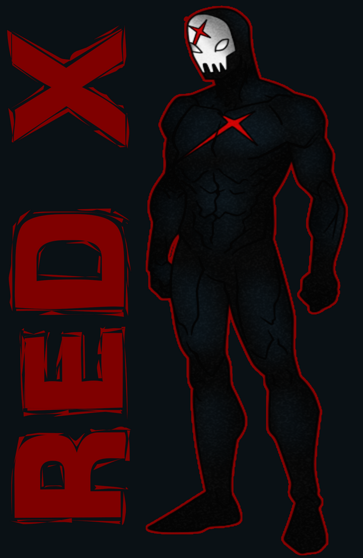 red-x-from-teen-titans