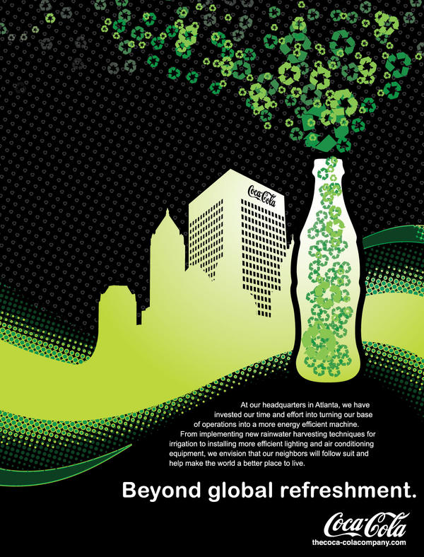 Beautiful Coke   Institutional Ad P2 By Seany Mac ...
