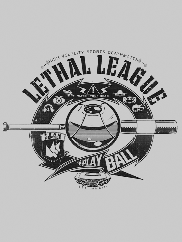 Lethal League - BIg League shirt by MajiOMNI