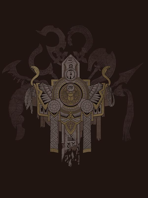 Smite Shirt - Arms of Egypt by MajiOMNI