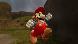 Super Mario Bros Artwork remake {SFM}