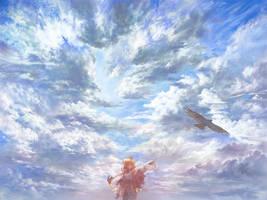Flying by matsukitchi