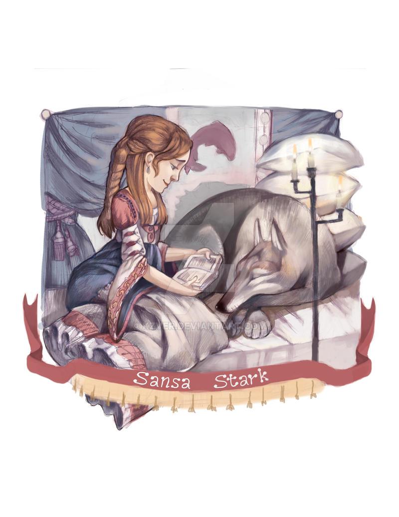 Sansa Stark by kzver