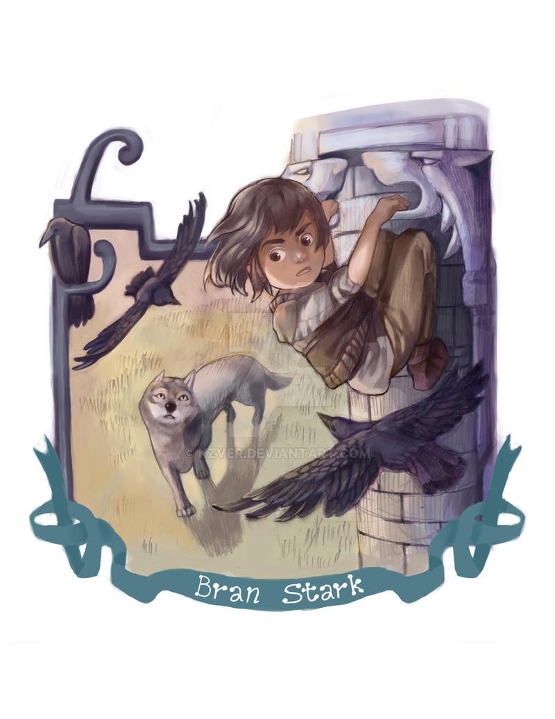 Bran Stark by kzver