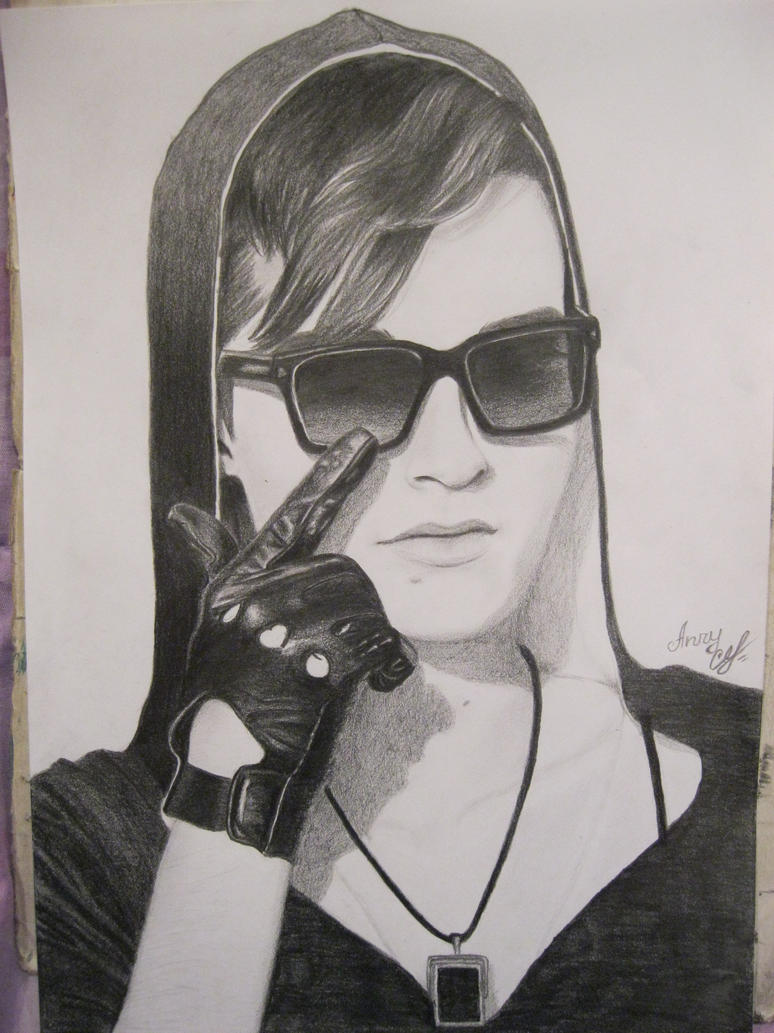 Bill Kaulitz (pensil) by AnryBianchi