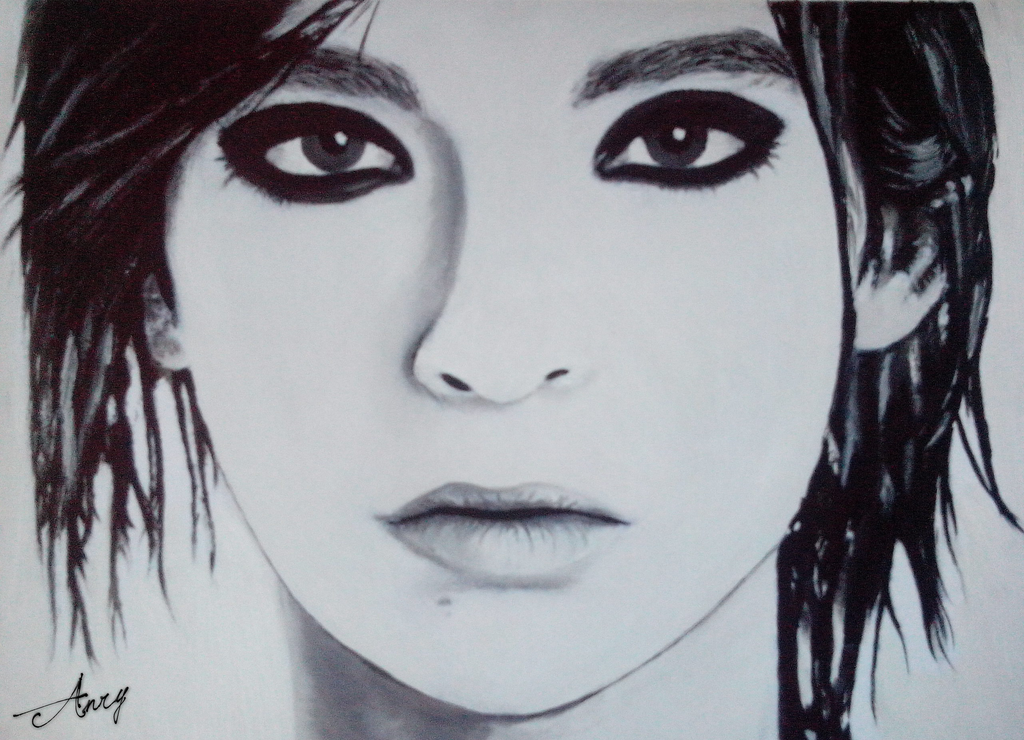 Bill Kaulitz (oil) by AnryBianchi