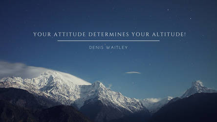 Your attitude determines your altitude! by phoenixwholistic