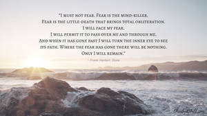 Fear is the mind-killer.