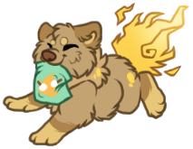 fuego dog by pandoras-island