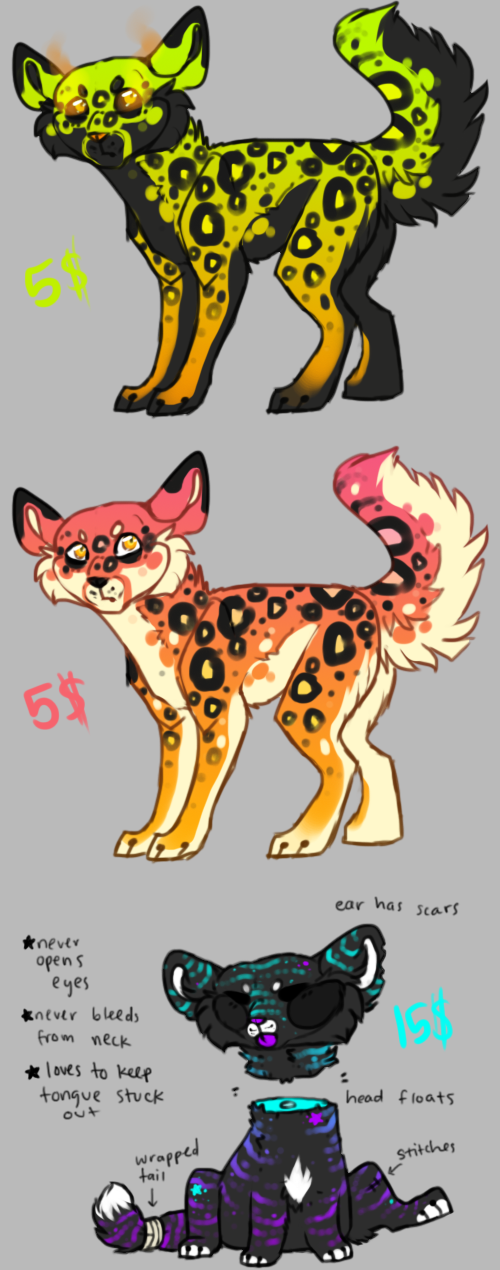 Kitties for sale (points or USD) by pandoras-island