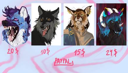 Quick Portrait Commissions OPEN