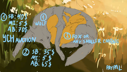 The song of dream YCH auction