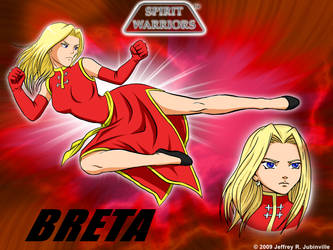 Breta Wallpaper by SpiritWarriors