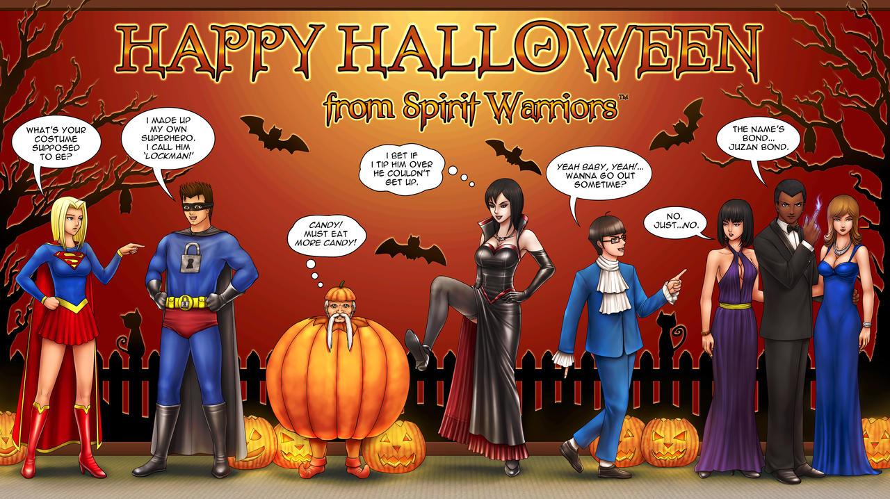 Spirit Warriors Halloween 2 by SpiritWarriors on DeviantArt