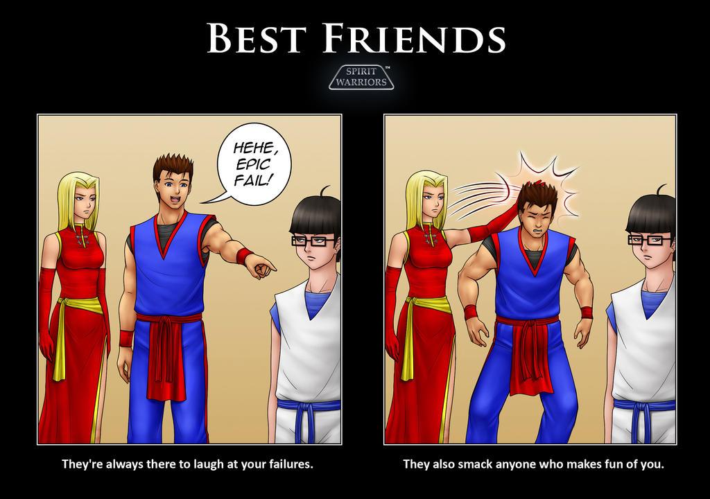 Spirit Warriors-Best Friends by SpiritWarriors