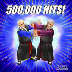 Spirit Warriors 500,000 Hits by SpiritWarriors