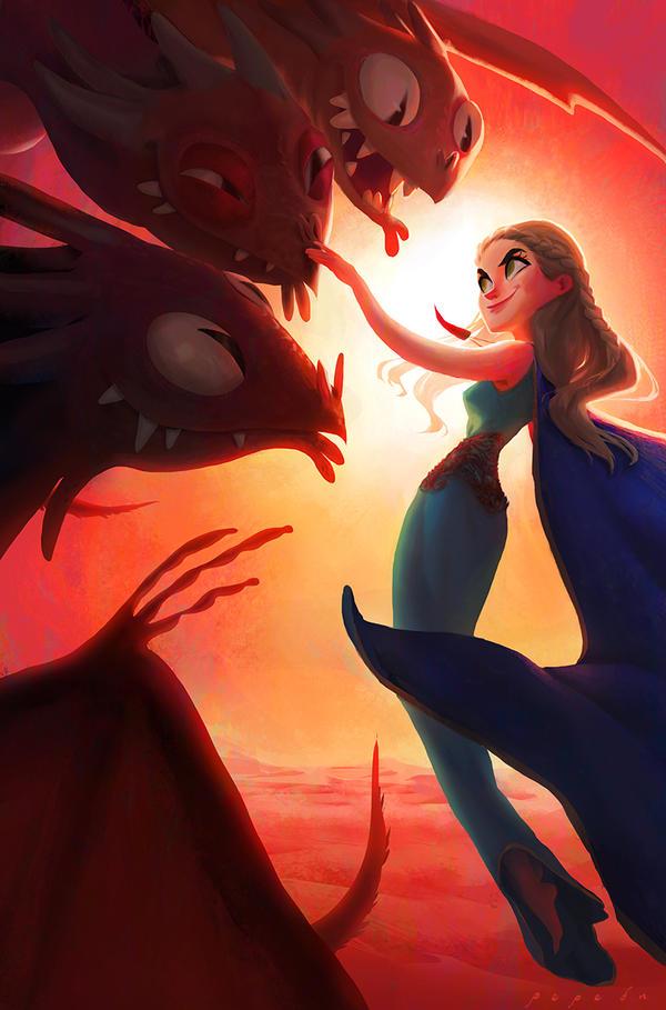 Daenerys by Pepe-Navarro