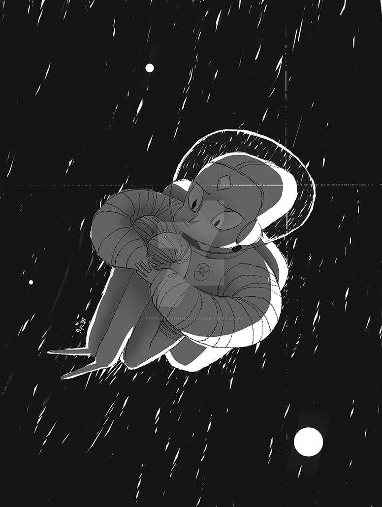 space loneliness by Pepe-Navarro
