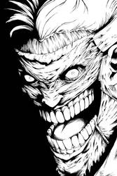Court Jester of Gotham (inked) by BrianSoriano