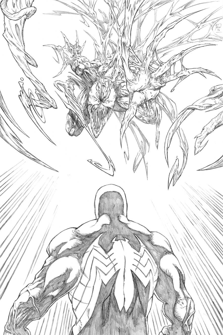 Venom Vs Carnage by BrianSoriano on DeviantArt